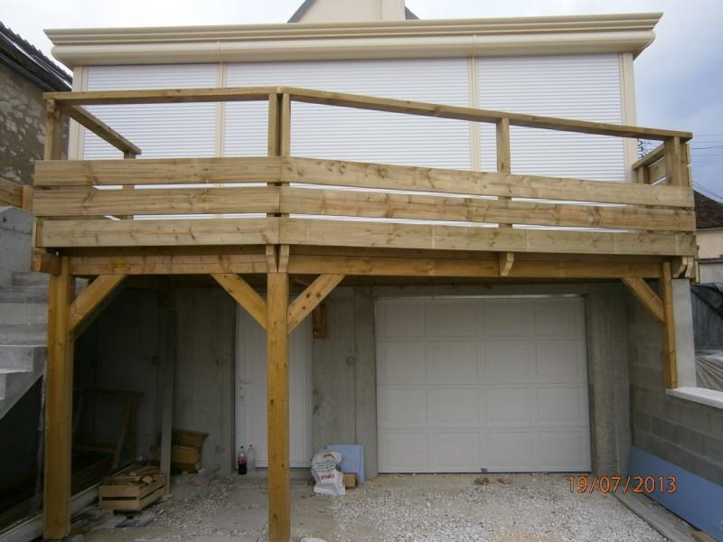 Terrasse en épicéa autoclave P7190210