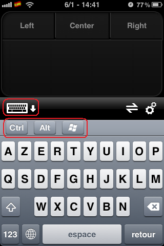 Transformez l'iPhone en trackpad tactile Photo_12