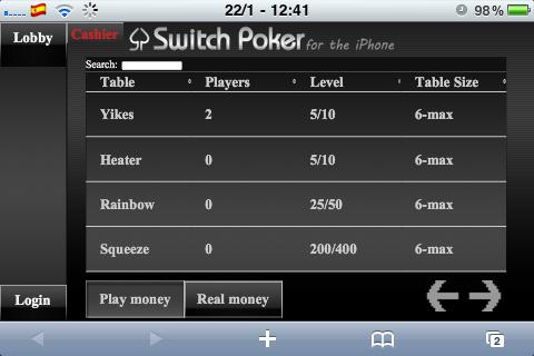 Jouer au poker en argent réel sur iPhone Photo_22