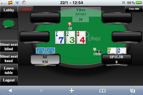 Jouer au poker en argent réel sur iPhone Photo_24