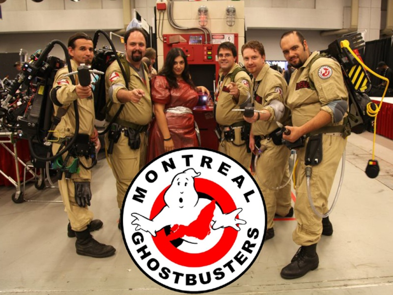 Franchises: GHOSTBUSTERS : MONTREAL Group10