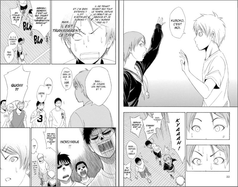 Kuroko's Basket [ de Tadatoshi Fujimaki au édition Kazé manga] Kuroko11