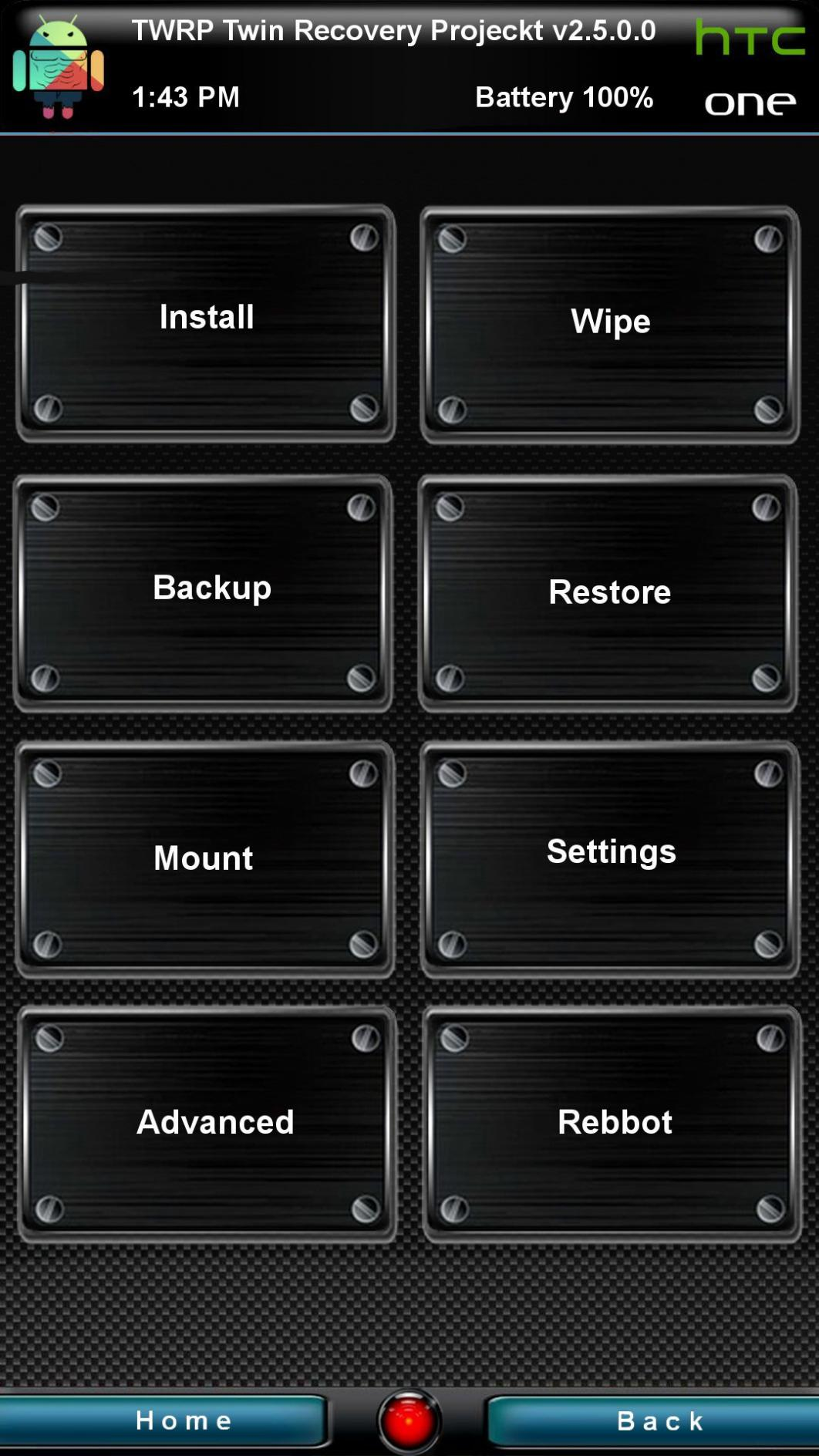 [RECOVERY HTC ONE M7] TWRP 3.0.0.0 [06/02/2016] 01sens10