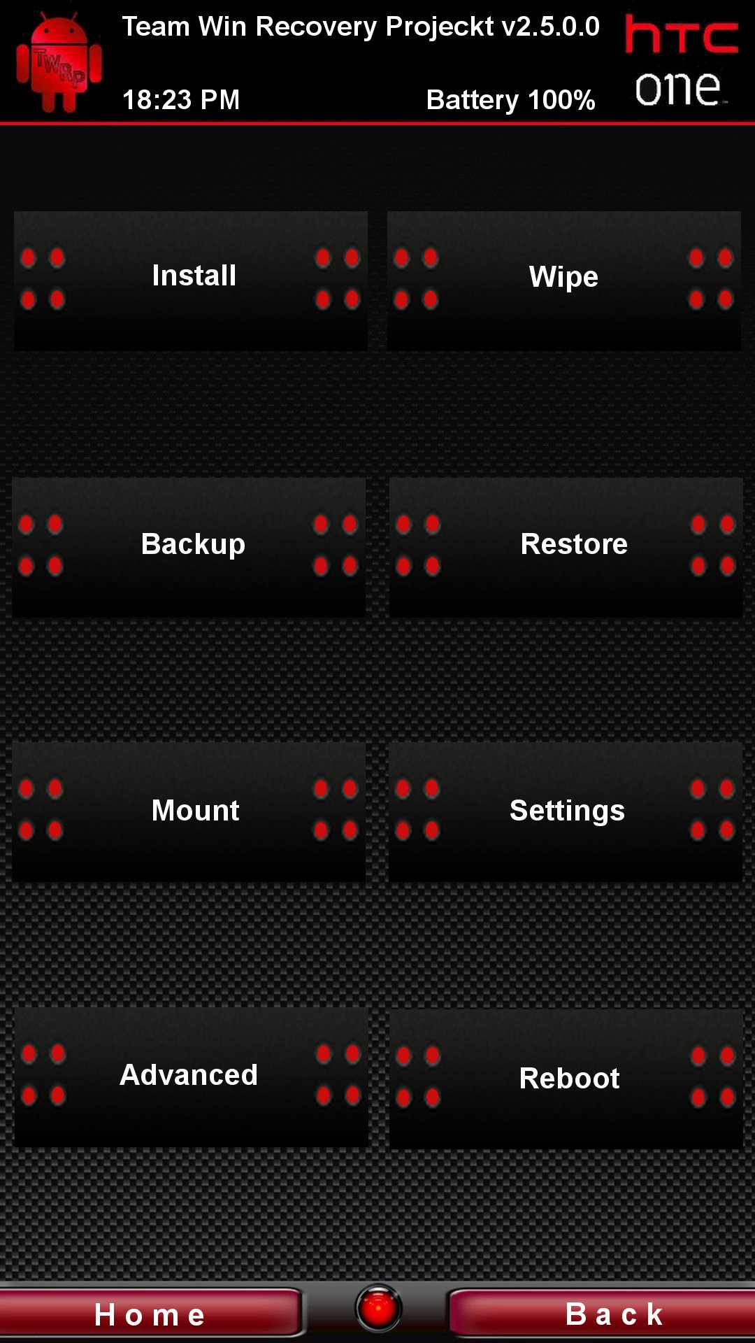 [RECOVERY HTC ONE M7] TWRP 3.0.0.0 [06/02/2016] 06red10
