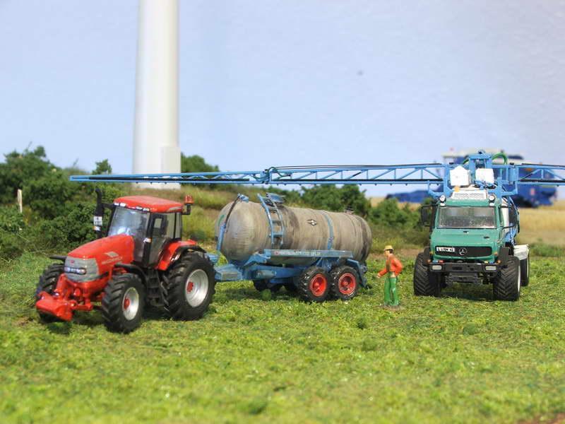 IFA W 50 mit INUMA Pflanzenschutz Spritze Landsc10