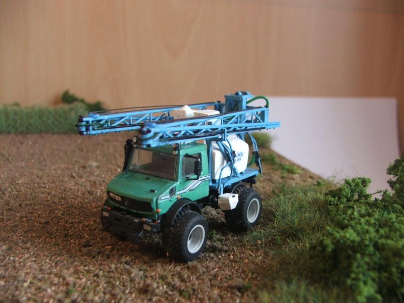 IFA W 50 mit INUMA Pflanzenschutz Spritze Unimog10