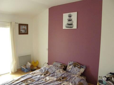 Conseil pour déco chambre adulte peinte en partie en \