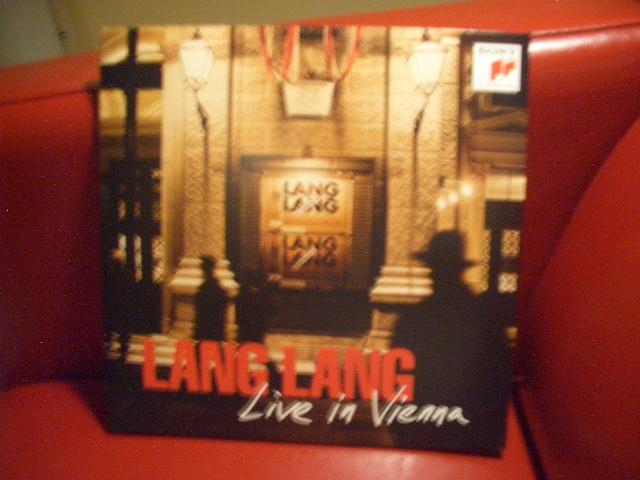 """Lang Lang: """"Live in Vienna"""" Record16"""