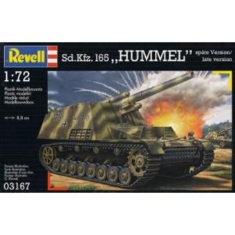 [revell 1/72] Sd.Kfz. 165. Hummel  Sdkfz110