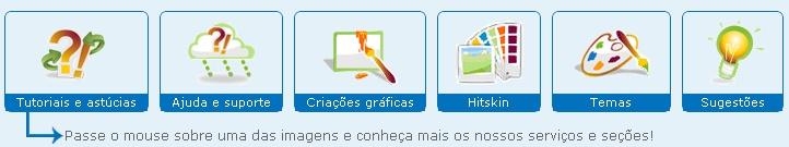 Efeito do mouse na lista de seções Ajuda_10