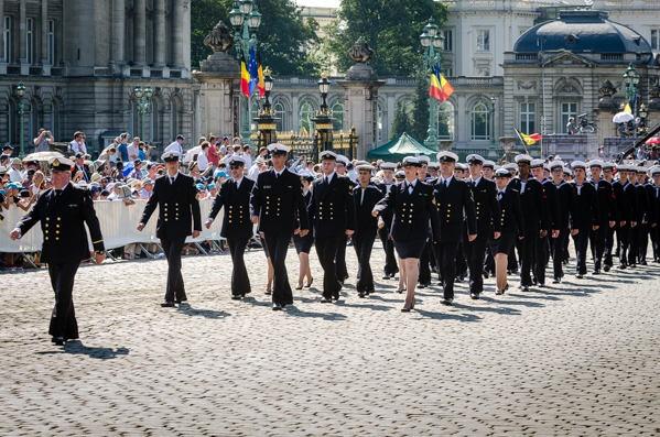 Défilé des cadets de Marine à Bruxelles le 21/07/2013 - Page 2 21_jul10