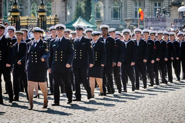 Défilé des cadets de Marine à Bruxelles le 21/07/2013 - Page 2 21_jul11