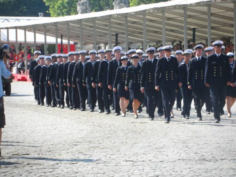 Défilé des cadets de Marine à Bruxelles le 21/07/2013 Cad10