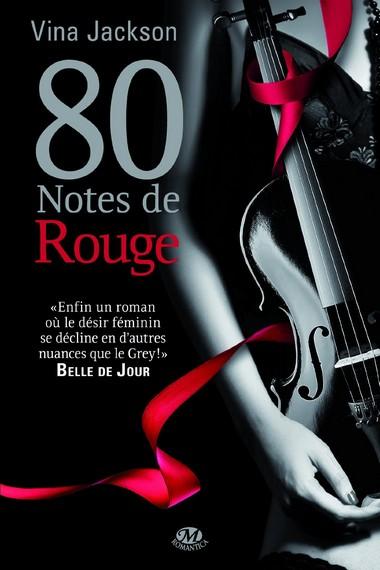 80 Notes - Tome 3 : 80 notes de rouge de Vina Jackson  71rddj10
