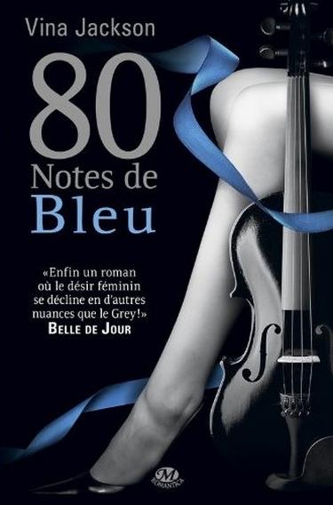 80 Notes - Tome 2 : 80 notes de bleu de Vina Jackson Bleu_210