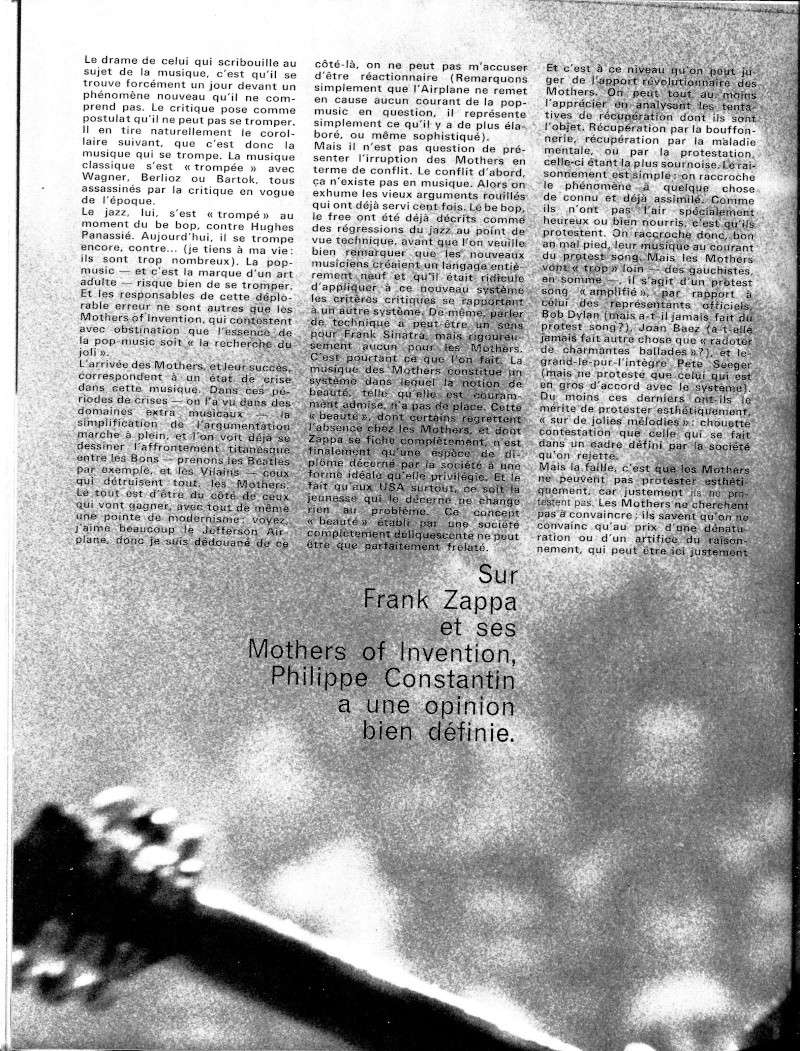 Zappa dans la presse française R23-8910