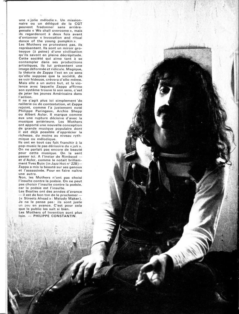 Zappa dans la presse française R23-8911
