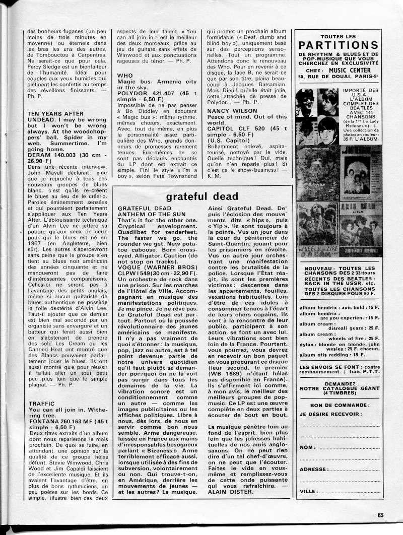 Grateful Dead - Anthem Of The Sun (1968) R24-9213