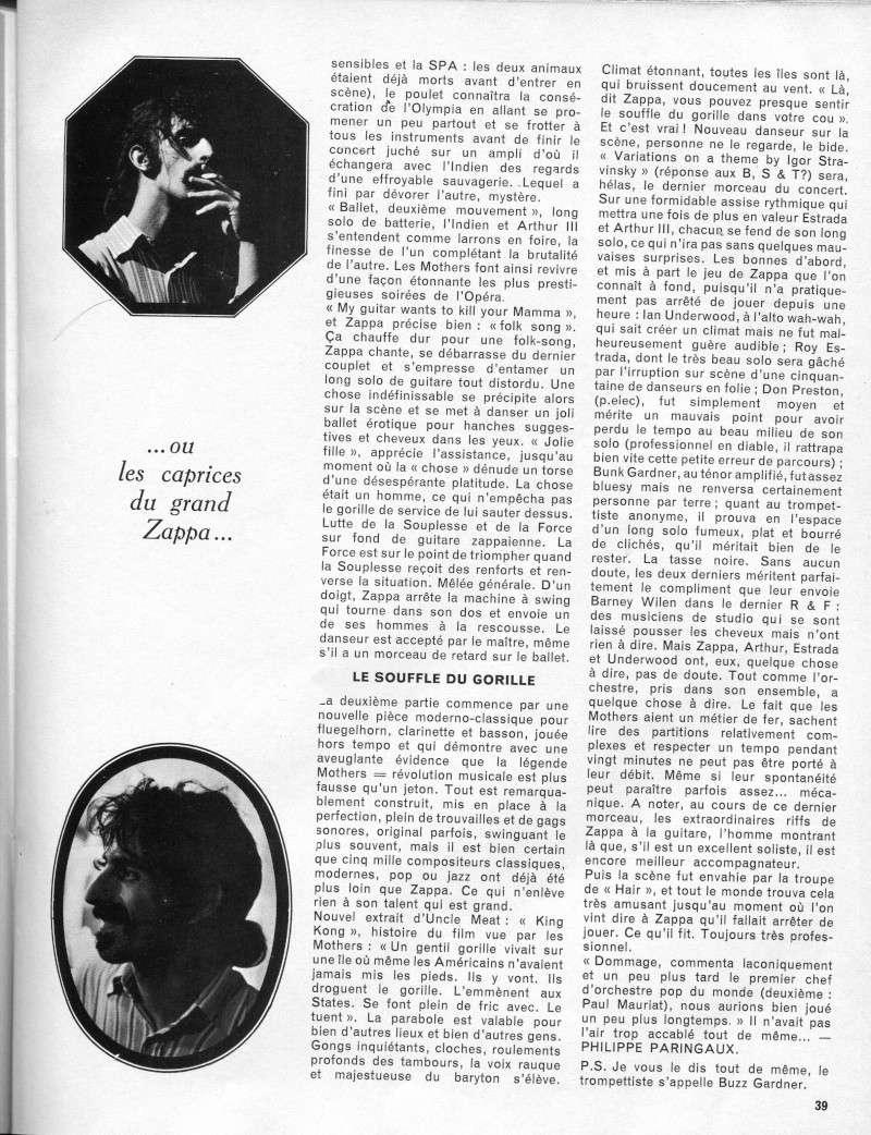 Zappa dans la presse française R30-9313