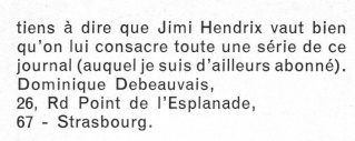 Jimi Hendrix dans la presse musicale française des années 60, 70 & 80 R31-9522