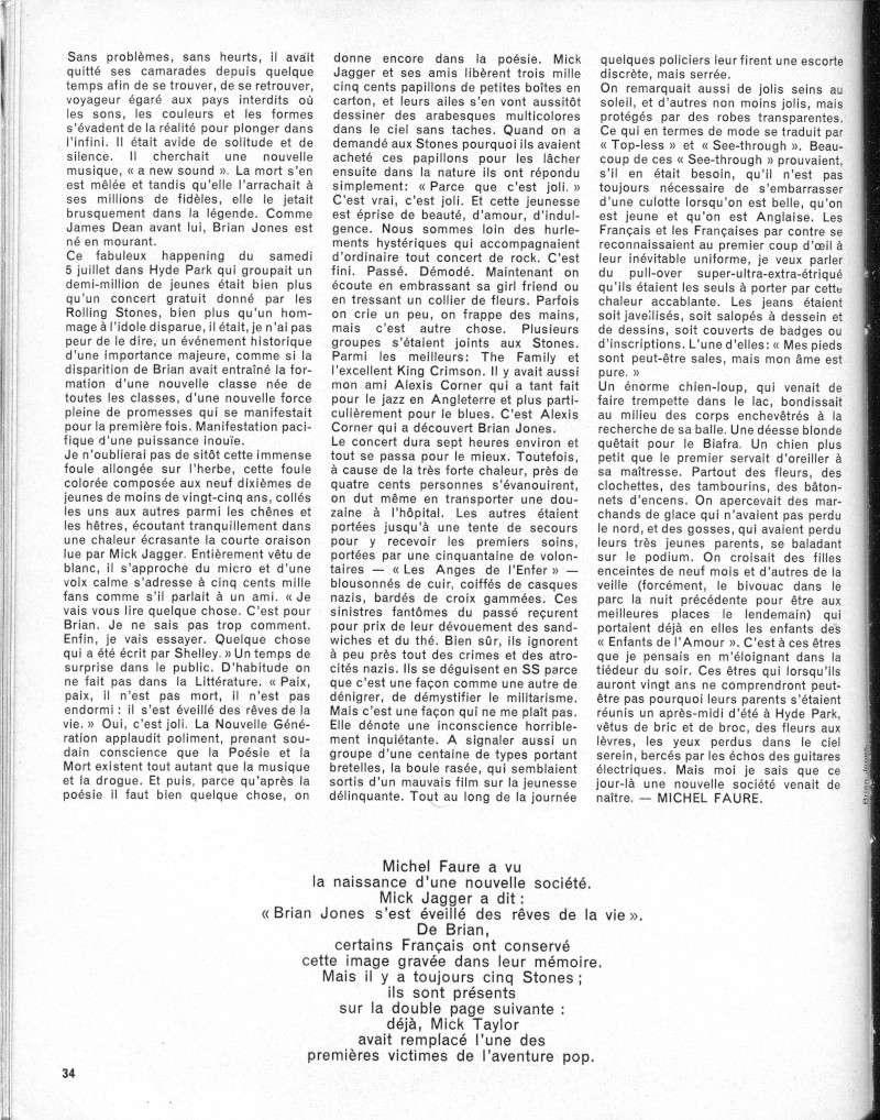 Les Rolling Stones dans la presse française R31-9610