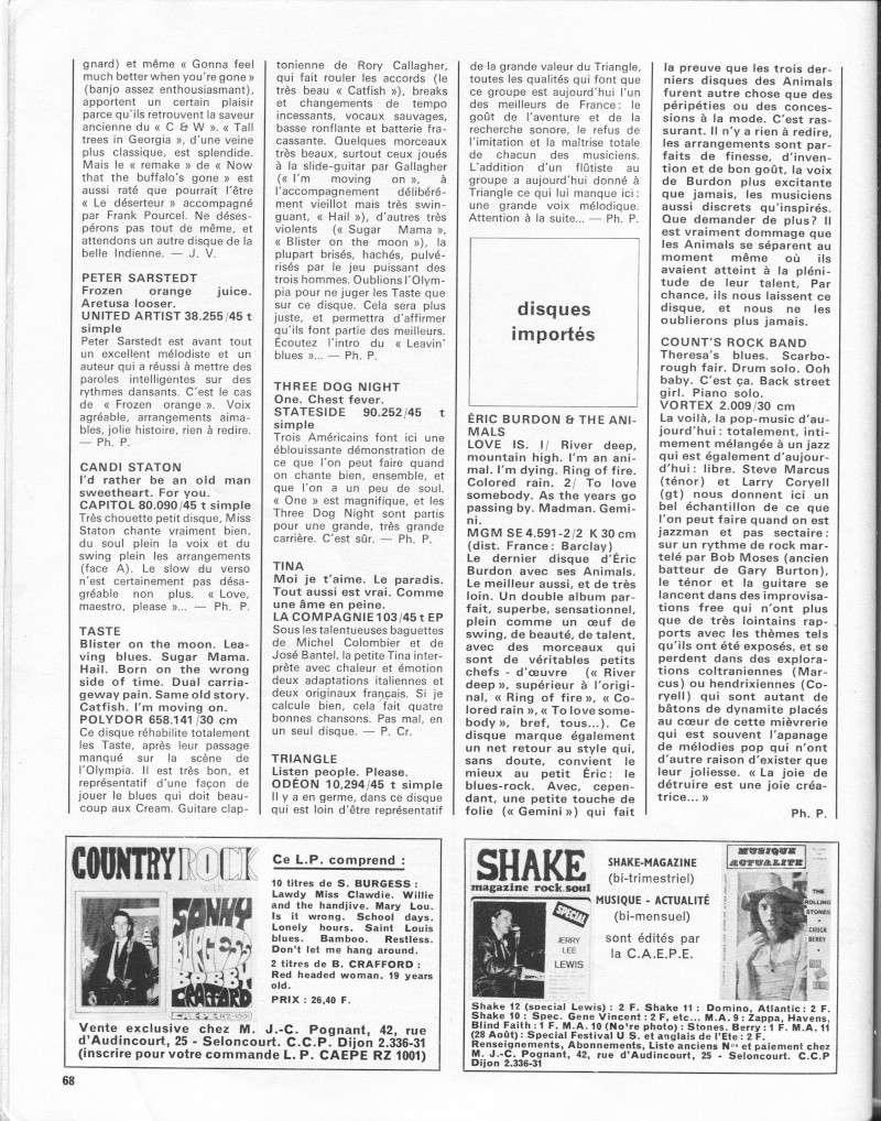Rory Gallagher dans la presse française R31-9613