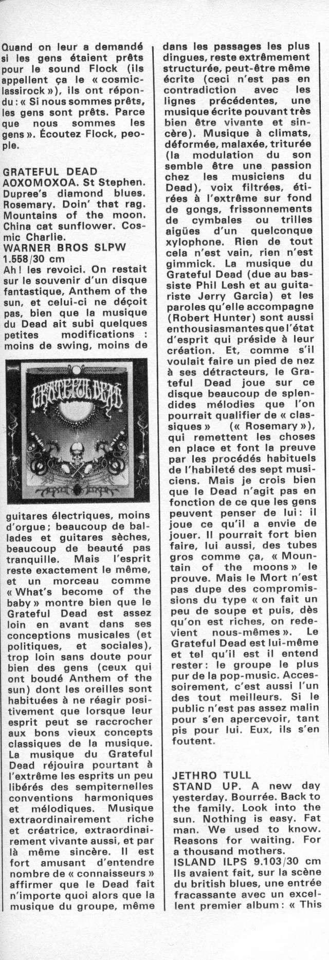 Grateful Dead - AoxomoxoA (1969) R33-9810