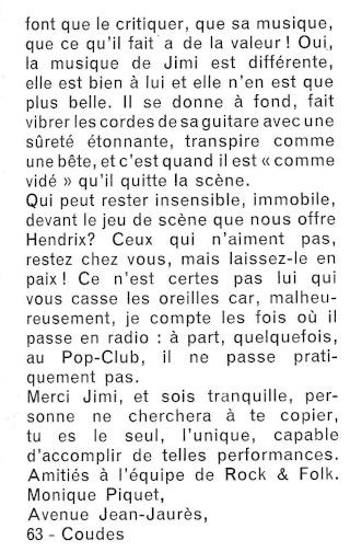 Jimi Hendrix dans la presse musicale française des années 60, 70 & 80 Rnf_2025