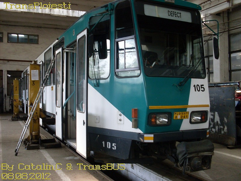 Depoul de tramvaie T.C.E. Ploiești 77516113
