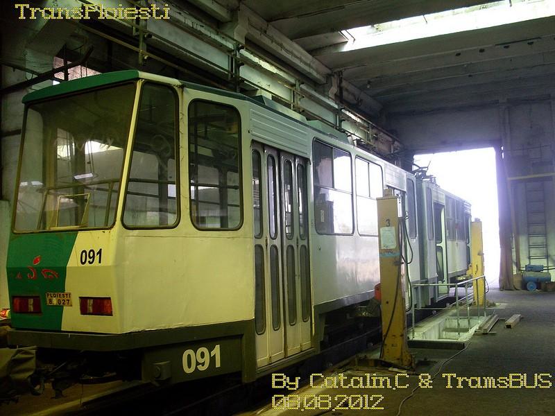 Depoul de tramvaie T.C.E. Ploiești 77516114