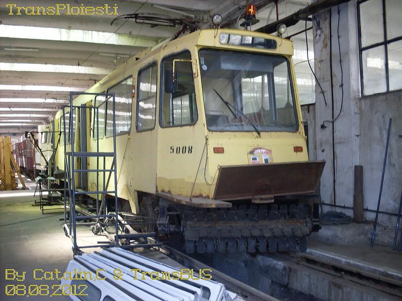 Depoul de tramvaie T.C.E. Ploiești 77516117