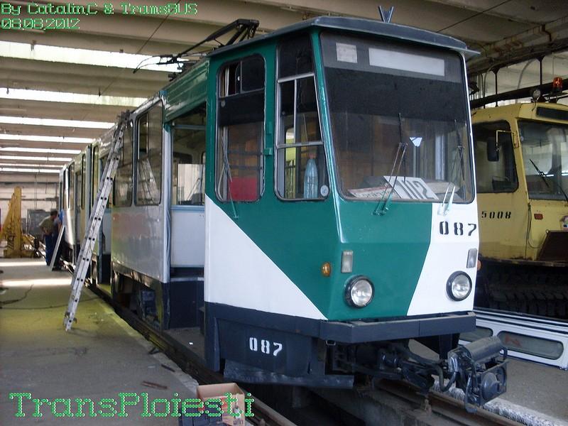 Depoul de tramvaie T.C.E. Ploiești 77516220