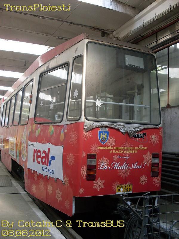 Depoul de tramvaie T.C.E. Ploiești 77516221