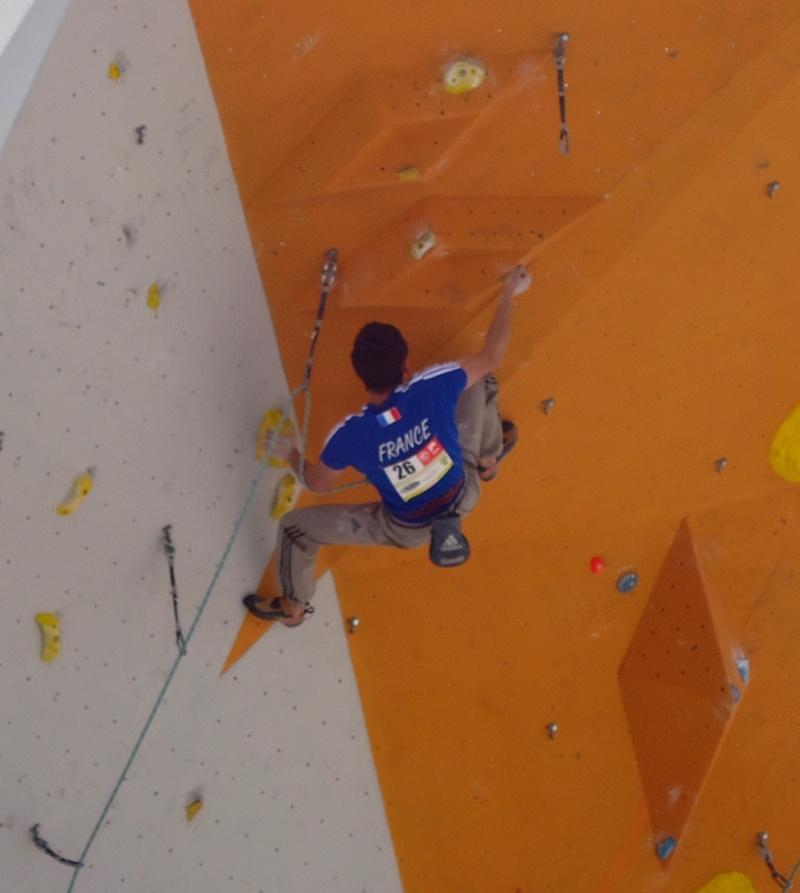 Championnats d'Europe d'escalade Dsc01020