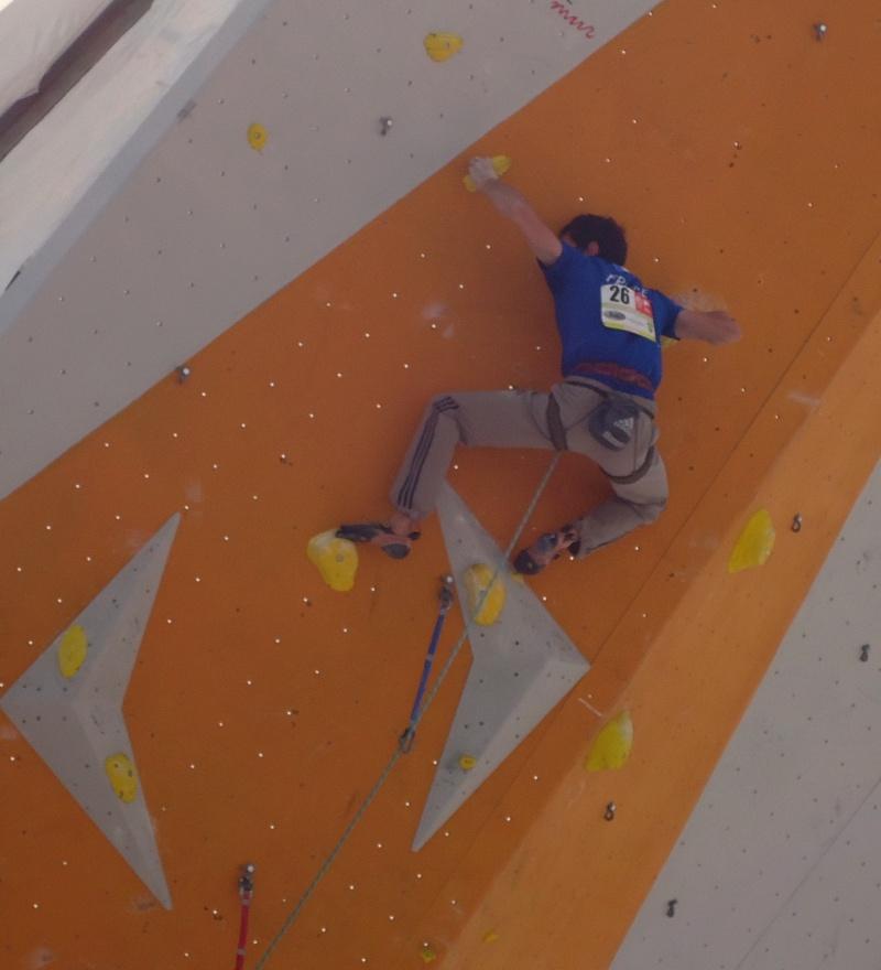 Championnats d'Europe d'escalade Dsc01021