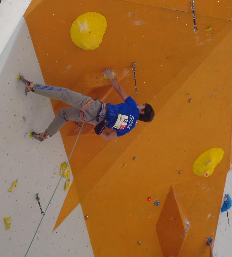 Championnats d'Europe d'escalade Dsc01022