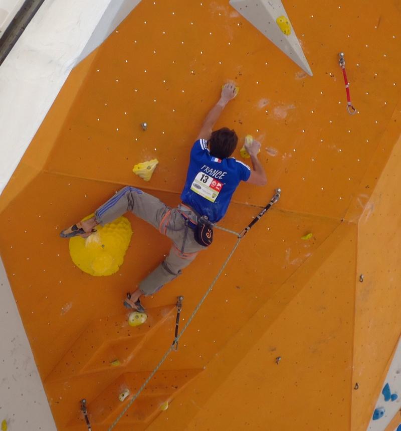 Championnats d'Europe d'escalade Dsc01023