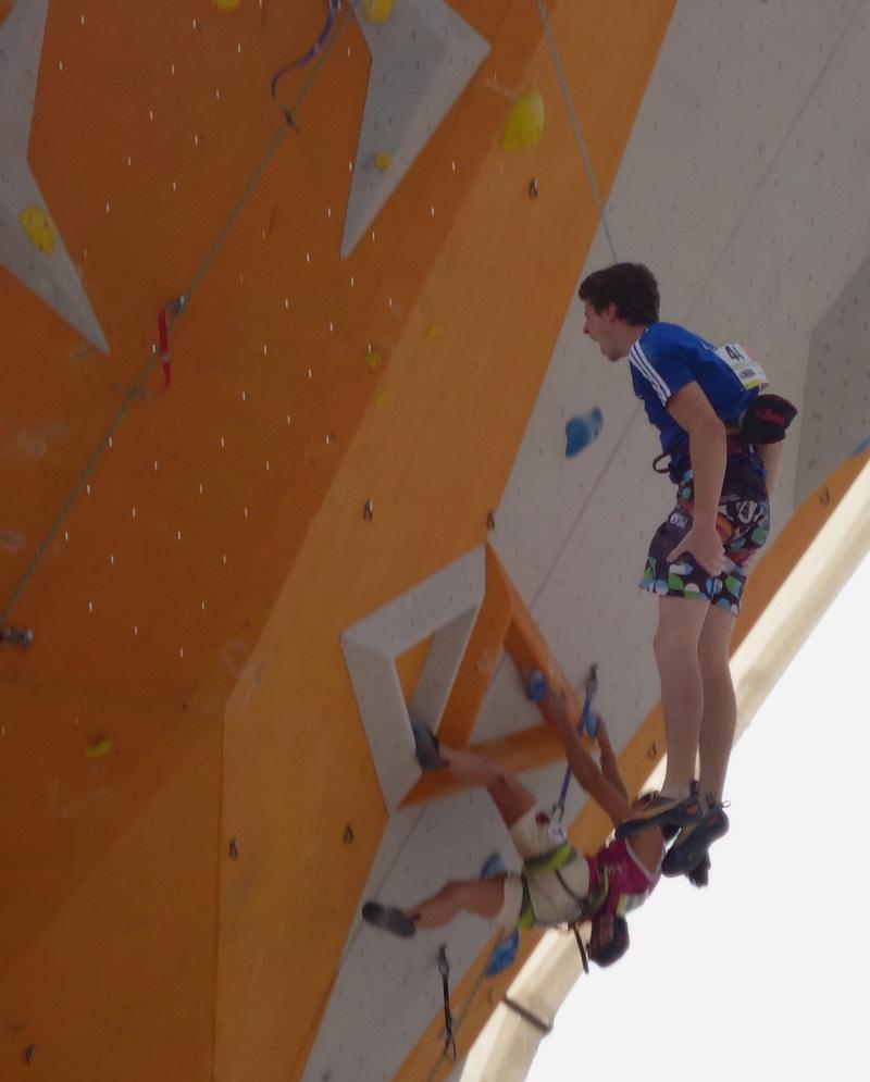 Championnats d'Europe d'escalade Dsc01025
