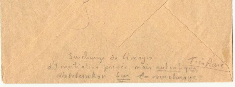 Surcharge de Limoges Liomge11
