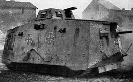 15 septembre 1916 : Les chars arrivent. 0003-110