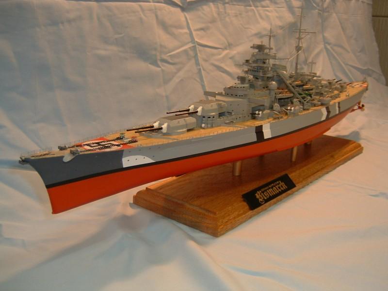 Le Bismarck au 1/350° par Alain MOITROT.  Bis35010
