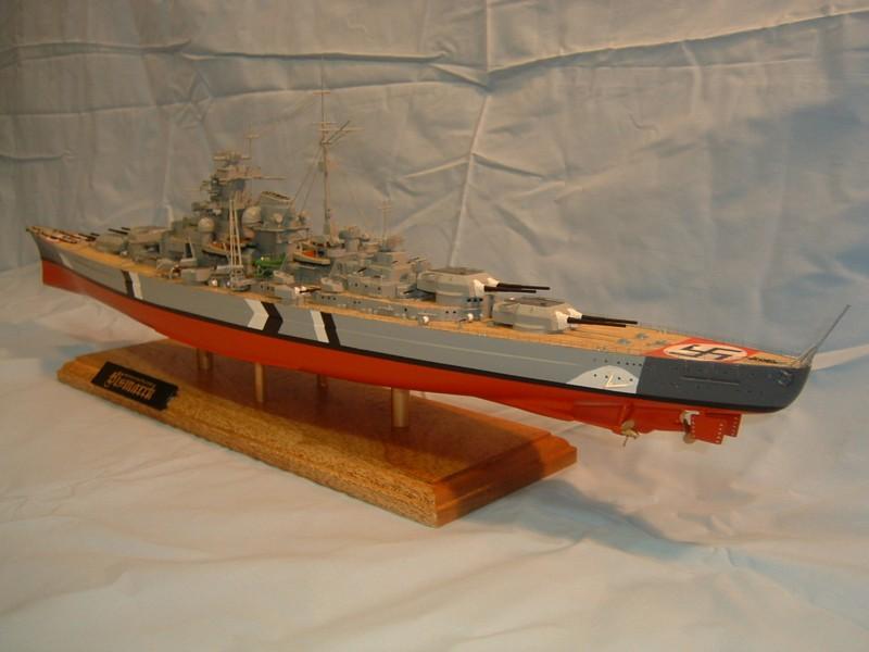 Le Bismarck au 1/350° par Alain MOITROT.  Bis35011