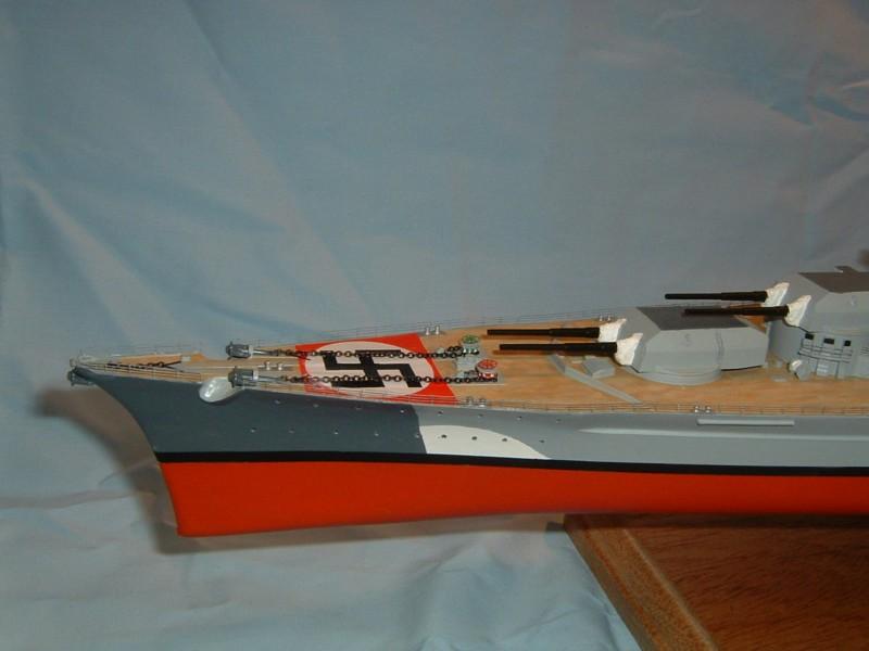 Le Bismarck au 1/350° par Alain MOITROT.  Bis35012