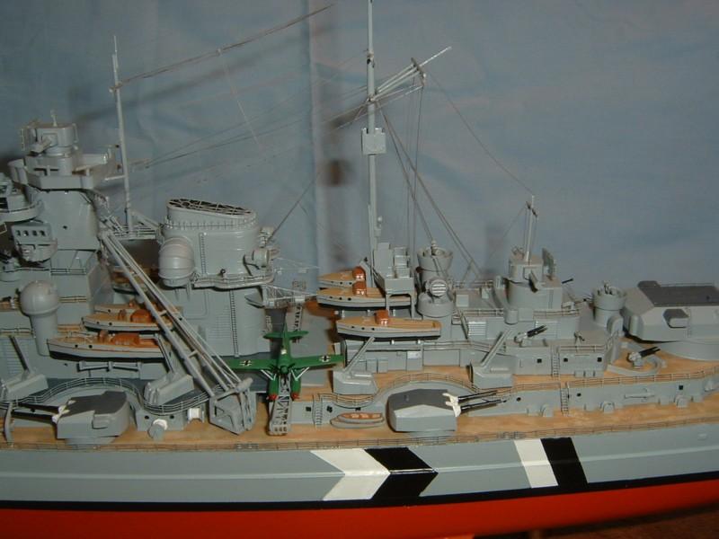 Le Bismarck au 1/350° par Alain MOITROT.  Bis35015