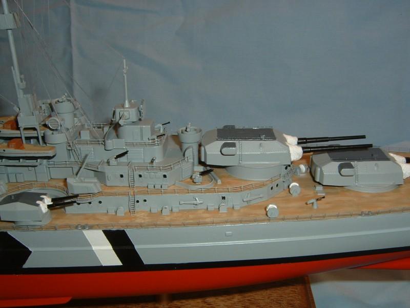 Le Bismarck au 1/350° par Alain MOITROT.  Bis35016