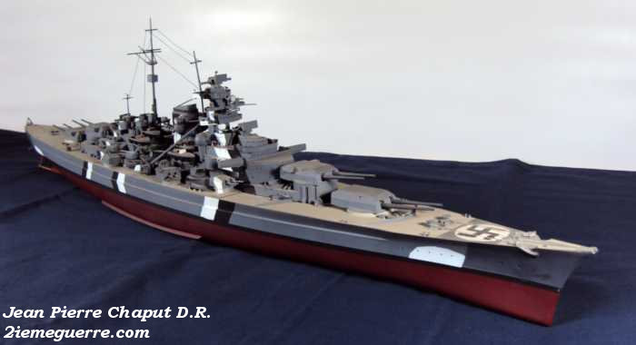 Le Bismarck : Photographie et Maquettes. Bismar15