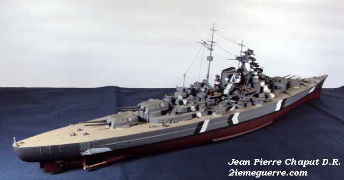 Le Bismarck : Photographie et Maquettes. Bismar16