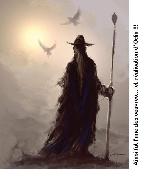 Odin et l'Arbre Yggdrasil M11_od11