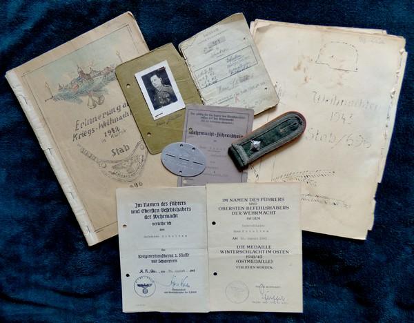 Soldbuch Feldwebel Feldgendarmerie-Abteilung (mot 696) Russie Grèce Croatie A011