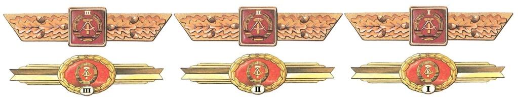 Insigne métal RDA Einhei10